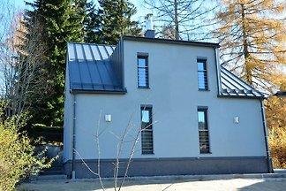 Modernes Ferienhaus am Waldrand in Böhmen