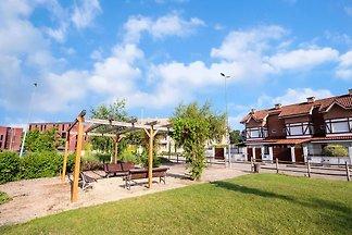 Schicke Wohnung in Cirueña mit 2 Schwimmbäder...