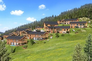 Luxurious Chalet in Ennsling with Private Swi...