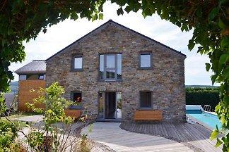 Wunderschönes Ferienhaus in Stoumont mit eige...