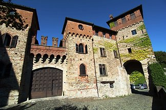 Historisches Schloss in Tagliolo (Monferrat)