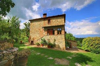 Denkmalgeschützte Villa in Montepulciano mit...