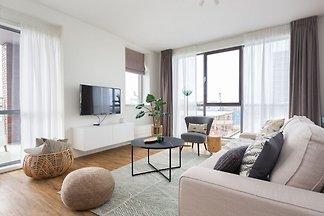 Moderne Wohnung in der Nähe des Strandes und ...
