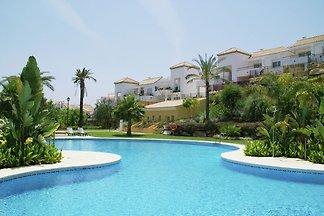 Gemütliche Ferienwohnung mit Pool in Nueva...
