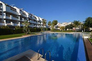 Modernes Appartement mit Swimmingpool am Meer...