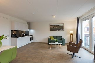 Luxury apartment in Zoutelande within walking...
