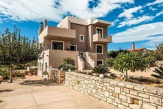 Moderne Villa in Adelianos Kampos in...