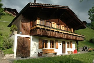 Detached chalet with view of the Alps, large ...