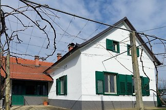 Holiday home with well-kept interior, 1 km fr...