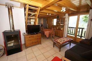 Ruhiges Chalet in Les Houches mit Garage