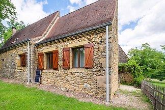 Comfortabele studio in Tamniès met een tuin