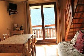 Moderne Ferienwohnung in Châtel mit Balkon