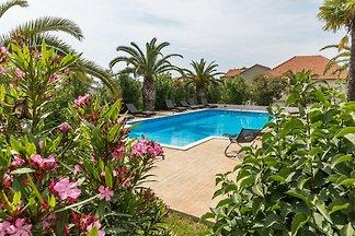Luxuriöses Ferienhaus in Bibinje am Meer