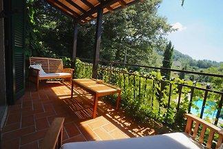 Komfortable Villa in Santa Fiora mit...