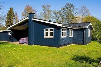 Geräumiges Ferienhaus in Seeland mit Barbecue