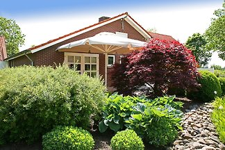 Ferienhaus auf dem Land in Ospel mit Terrasse