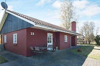 Charmantes Ferienhaus in Jütland mit Terrasse