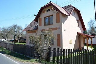 Piękny, wolnostojący dom wakacyjny z tarasem ...