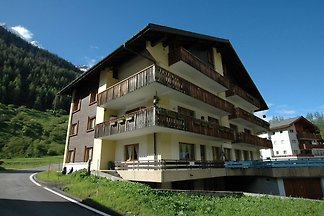 Apartment in Blatten with Mountain Views & Op...