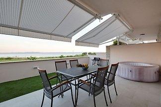Spacious Holiday Home in Privlaka near Sea...