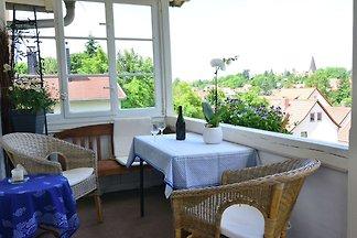 Moderne Ferienwohnung mit Balkon in Bad...