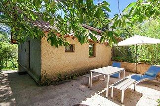 Gemütliches Ferienhaus in Bourgnac mit...
