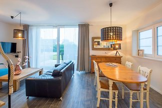 Schönes 4-Personen-Ferienhaus, der Strand ist...