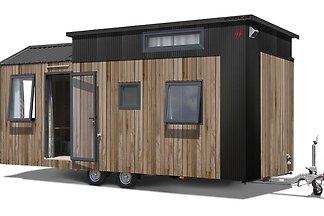 Voll möbliertes kleines Haus in Strandnähe