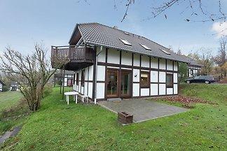 Modernes Ferienhaus in Frankenau im...