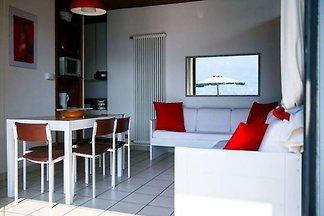 Besonderes Apartment in Pognana Lario mit gro...