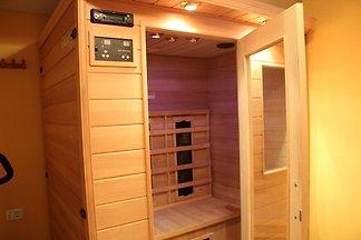 Gemütliche Wohnung mit Infrarot-Sauna in...