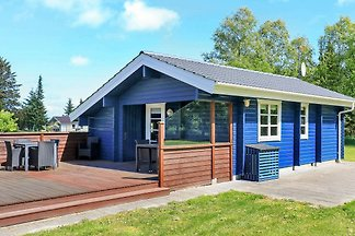 Gemütliches Ferienhaus in Bindslev mit Grill