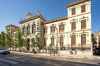 Einfaches Ferienhaus in Granada mit Terrasse