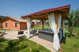 Attractive Holiday Home with Pool, Jacuzzi, P...