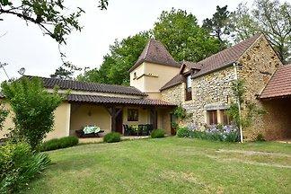 Gemütliches Ferienhaus in Cazals, Frankreich;