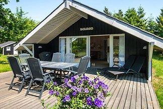 Schönes Ferienhaus in Ringkøbing mit überdach...