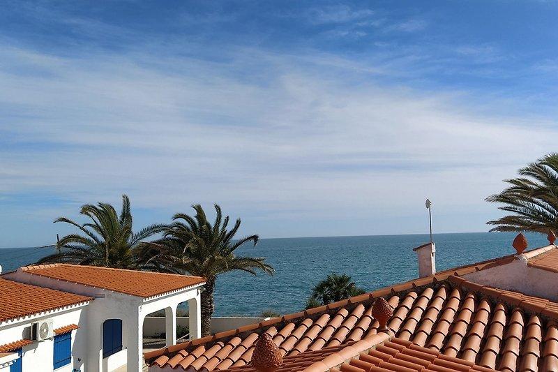 Blick zum Meer
