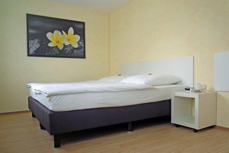 Schlafzimmer 1 im Ferienhaus Gebind
