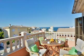 Son Serra beach apartment sea views