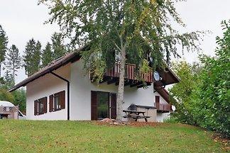Ferienhaus mit Sauna, See, Wald und