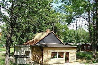 Hexenhaus am Waldesrand in