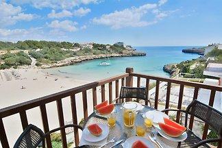 Mallorca front line beach apartment