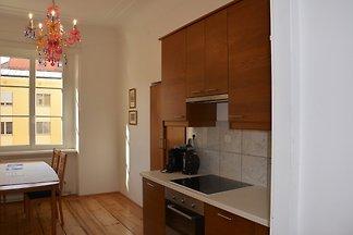 Apartment, 2 Schlafzimmer, Innenhof