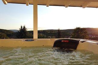 WellnessFerienhaus mit Pool, Sauna