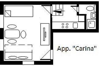 App O4, 1-3 Personen, 23km bis