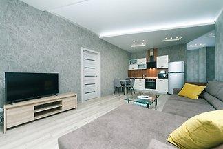 Two bedrooms. Lux. 44 Shota