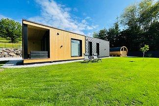 Voralpen Lodge mit Outdoor Sauna