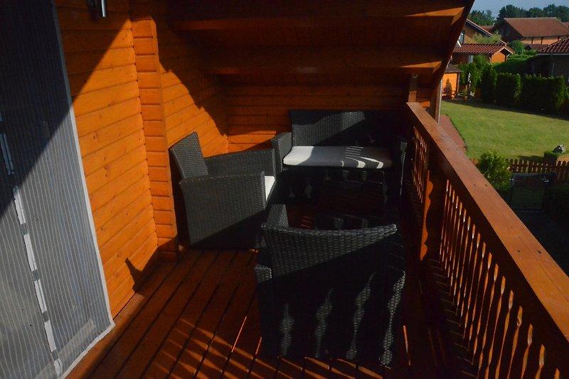 Balkon mit Sitz-Lounge