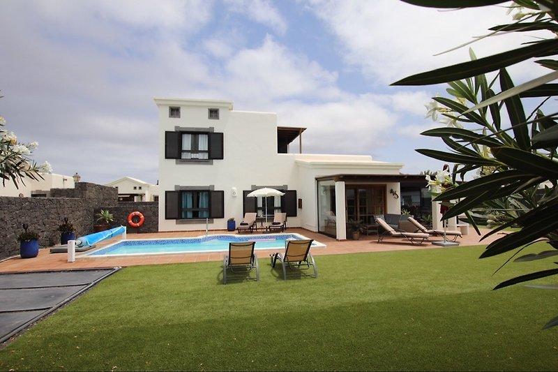 Die Villa Frangipani
