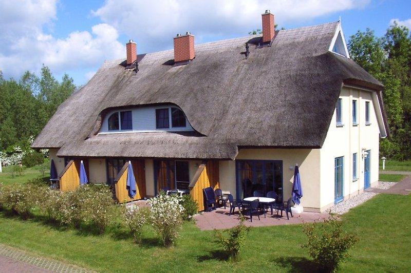 Haus Malve im Frühjahr